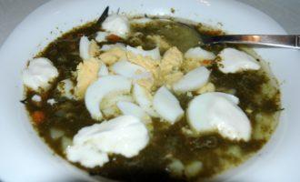Щавелевый суп в мультиварке фото