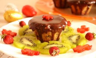 Шоколадные маффины фото