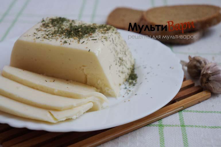 Домашний сыр в мультиварке фото