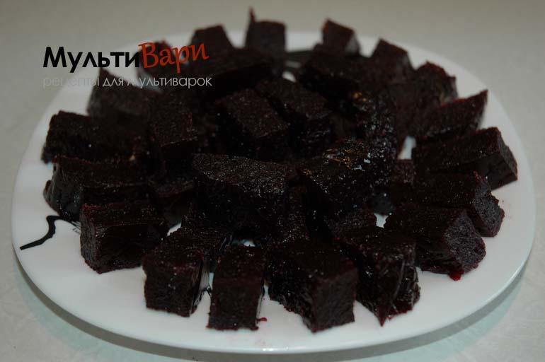 Мармелад из черной смородины в мультиварке фото