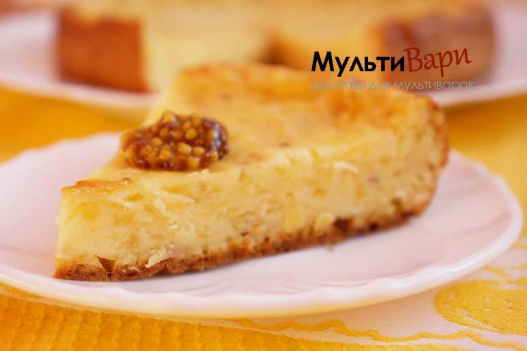 Сырный кекс с горчицей в мультиварке фото