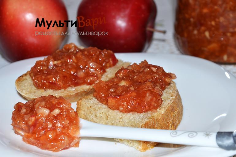 Яблочное зернистое варенье фото