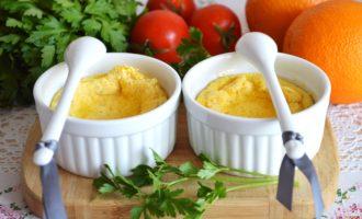 Апельсиновый омлет на пару фото