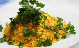Рис с карри фото