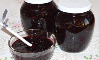 Варенье из черной смородины фото