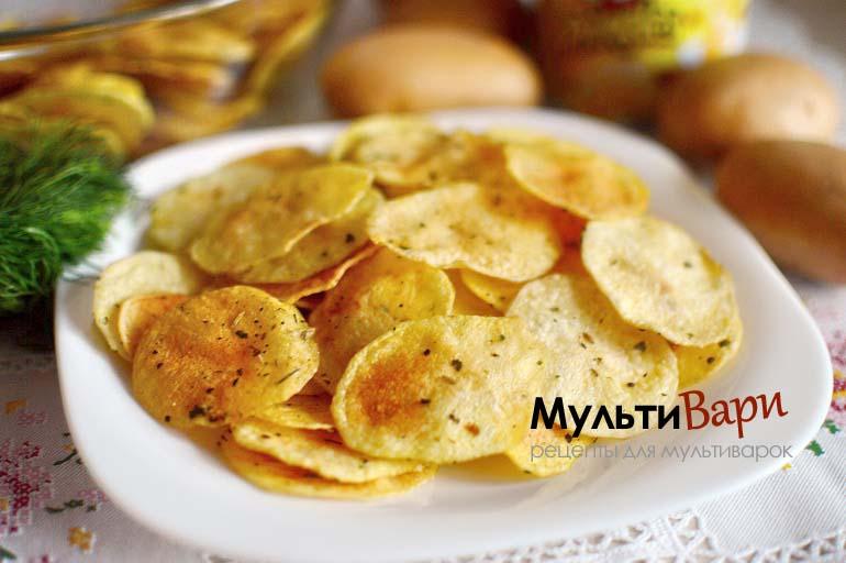 Картофельные чипсы в домашних условиях фото