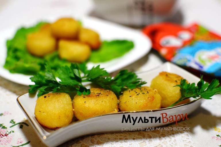 Картофельные шарики с сыром фото