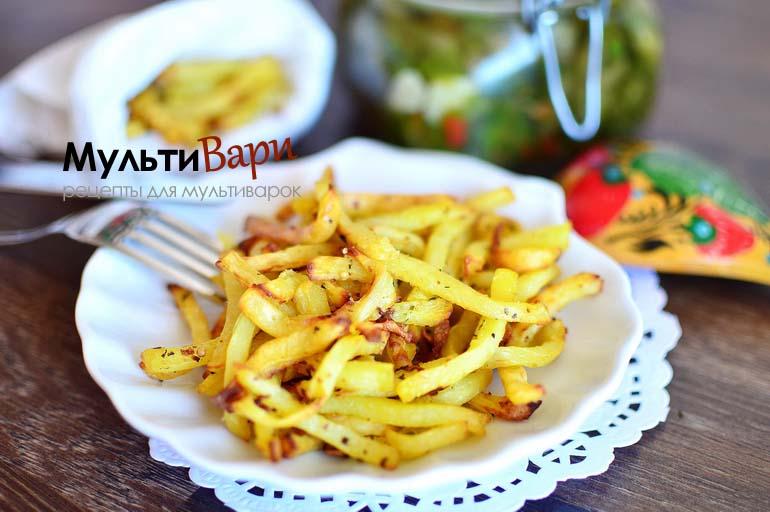 Картофель фри в мультиварке фото