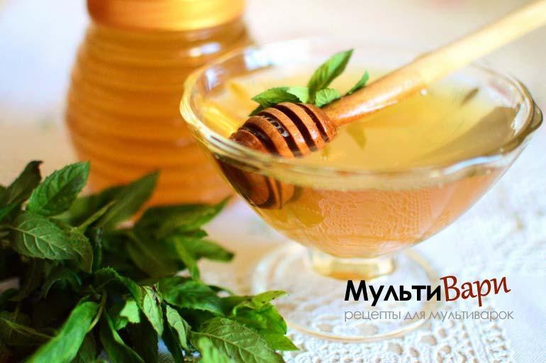 Мед из мяты в мультиварке фото