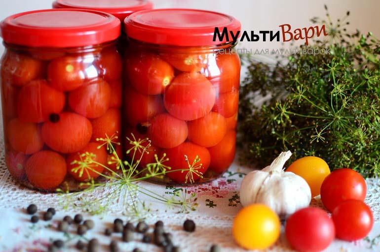 Соленые помидоры на зиму - Черри фото
