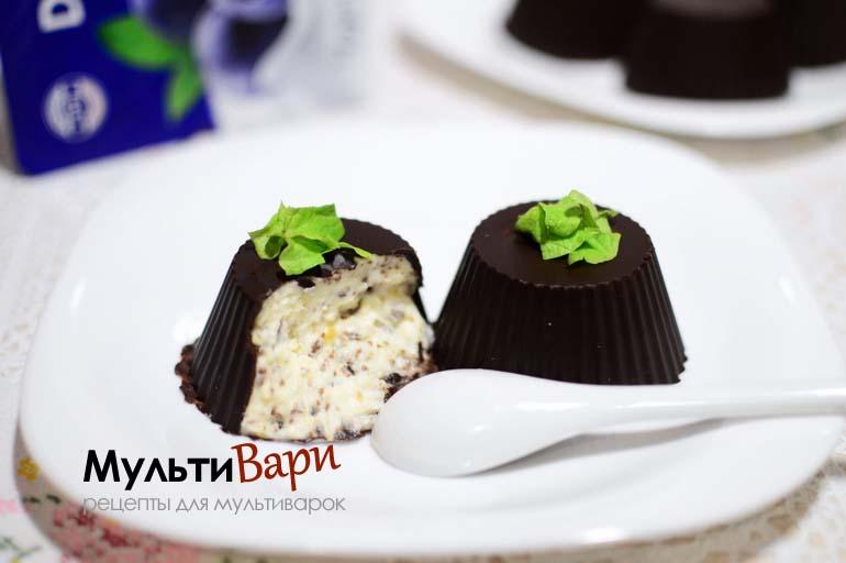Сырки в шоколаде фото