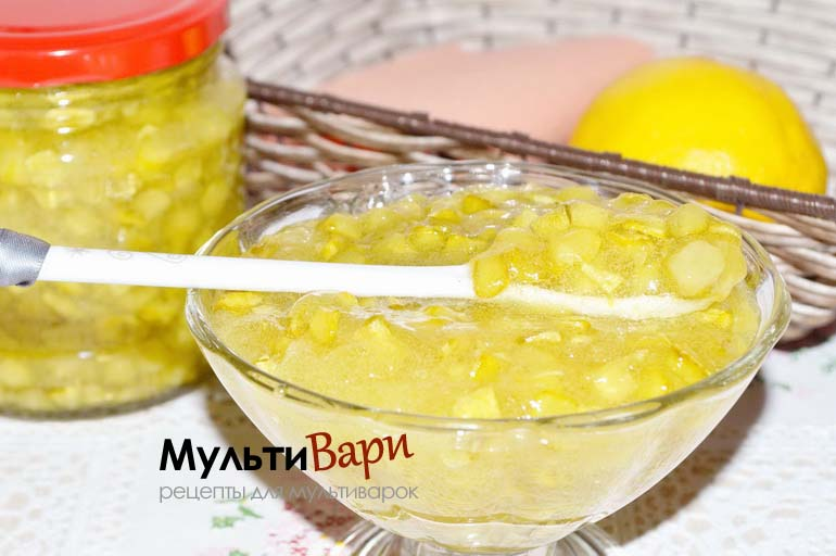 Варенье из кабачков с лимоном фото