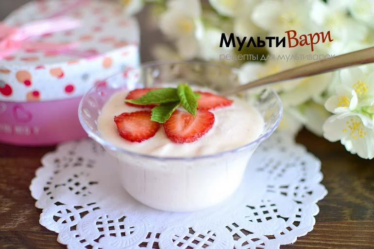 Йогурт в мультиварке без специальных заквасок фото